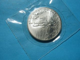 16 Falcon Jet Fighter 1995 Marshall Island $5 Coin