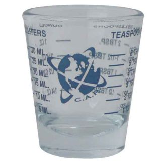 Shot Glass 1 oz Measuring Cup Teaspoons Milliliters Ounces Tablespoons