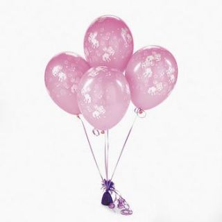 Pink 11 Cowgirl Balloons Birthday Party Favors Decor