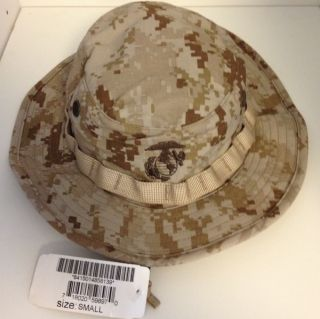 DESERT MARPAT DIGITAL BOONIE COVER HAT NWT SMALL COMBAT HUNT FISH CAMP