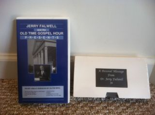 Jerry Falwell OLD TIME GOSPEL HOUR VHS SERMONS DAVID RING EVANGELIST