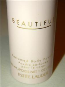 New Estee Lauder Beautiful Perfumed Body Powder Shaker 1oz 28 3ml