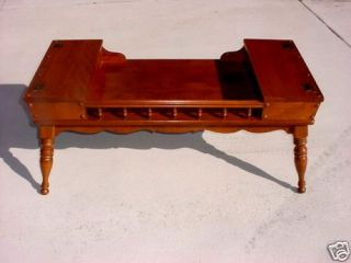 Ethan Allen Heirloom Cocktail Table Colonial Early American Furniture
