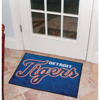 click an image to enlarge fanmats rectangular fan rug detroit tigers