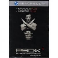 FITNESS DVD P90X+ INTERVAL X PLUS & ABS/CORE PLUS with Tony Horton by