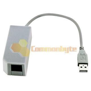Ethernet LAN Network Card Adapter RJ45 for Nintendo Wii