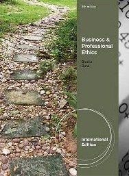 Business Professional Ethics for Directors Executives 6E by Brooks
