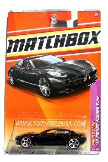 2011 Matchbox 1 Sports Cars 12 Fisker Karma Ever Black
