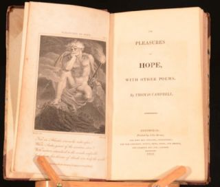 1813 The Pleasures of Hope with Other Poems by Thomas Campbell