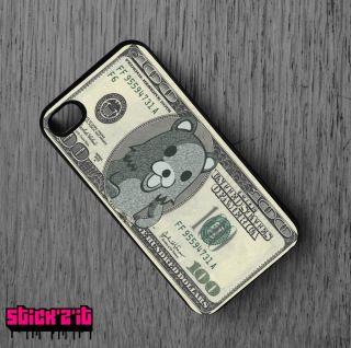 Dollar Bill Funny Bear 4S Case Sticker Bomb JDM Euro VAG Style Funny