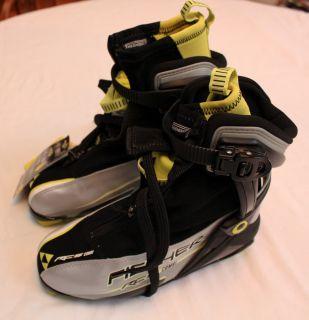 FISCHER RC5 COMBI BLACK SKATE CROSS COUNTRY SKI BOOTS NIB NWT 38 5 5 6