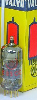Hamburg Germany Red 6922 E88CC Tube Platinum Low Noise D6D2