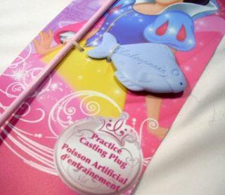 Disney Princess Fishing Pole Rod Reel Combo Shakespeare NEW for Kids