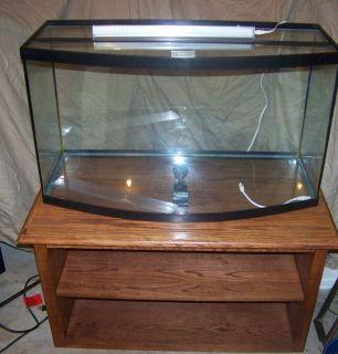 44 Gallon Corner Aquarium Fish Tank