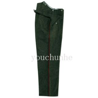WWI German M1907 Feld Geey Wool Trousers Custom Tailored Made 32539
