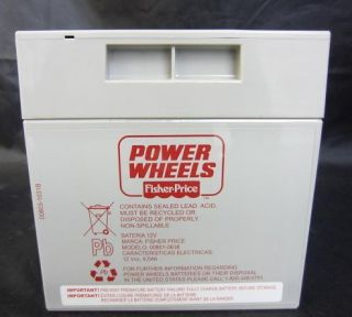 Fisher Price 74777 12 Volt Rechargeable Replacement Battery 9.5Amp/Hr