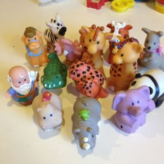 Lot of Fisher Price Little People Animals