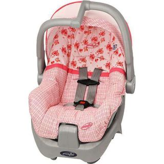 Evenflo   Discovery 5 Infant Car Seat, Little Pink Kisses  Retail $60