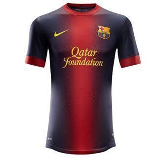 New Barcelona Junior Home Shirt 2012 13 Genuine New Shirt