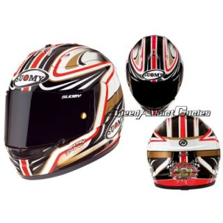 Suomy Excel Spec 1R Extreme Neukirchner Full Face Motorcycle Helmet