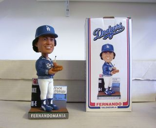 Fernando Valenzuela Fernando Mania 2011 La Dodgers Bobble Bobblehead