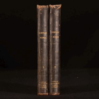 1851 2vol Fernley Manor Mrs Mackenzie Daniels Fiction Very Scarce