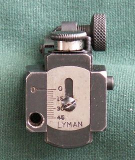 Lyman M 66R Receiver Peep Sight Remington 740/760 Series, Winchester