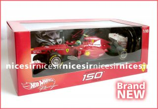Hot Wheels Racing Ferrari 150 Italia F Felipe Massa 1 18 Collection