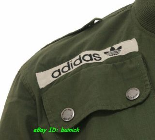 Adidas Star Wars Flight Jacket Han Solo Military Green Army New L