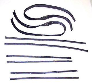 69 70 71 72 Chevrolet Chevy GMC Pickup Truck Door Window Felt Seal Kit