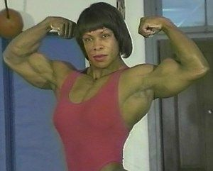 Female Wrestling Bodybuilding DVD Vickie Gates Suzan Kaminga