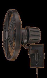 Ellington Faraday Aged Bronze Outdoor Rated Wall Mount Fan