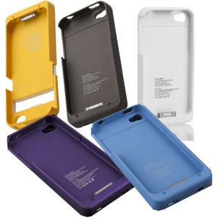 External Backup Battery Charger 1900mAh Protect Case Cover for iPhone