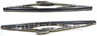 fiat 850 124 coupe spider wiper blades set new