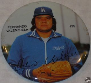 La Dodgers Fernando Valenzuela Pin 3 295