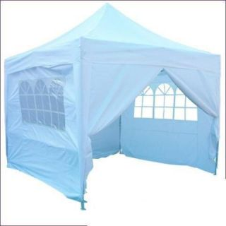 Peaktop 10x10 EZ Pop Up Canopy Gazebo Party Tent White