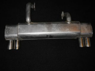 Ferrari 308 Stebro Stainless Steel Exhaust System Brand New