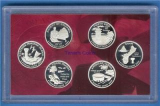 1999 2009 Silver Proof Quarter Sets 56 Coins No Box