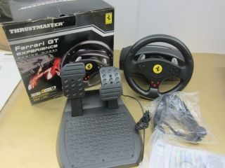 Thrustmaster Ferrari GT Experience Racing Wheel n pedals 2960697 PS3