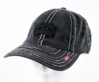 Kurtz Baseball Cap Hat Albert Black A Flex One Size Fits Most AK116