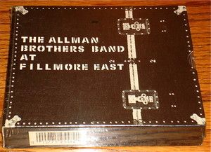 Allman Brothers Live at The Fillmore East 2 CD Box Set SEALED