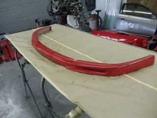Acura NSX Front Bumper Spoiler Fiberglass Lip