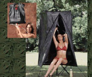 Texsport Solar Camp Shower Shelter Combo Camping Privacy New Free