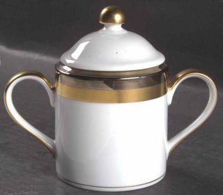 fitz floyd platine d or round sugar bowl 6485130