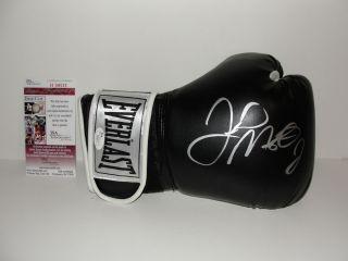 FLOYD MAYWEATHER JR. AUTOGRAPH Boxing Glove JSA COA Everlast