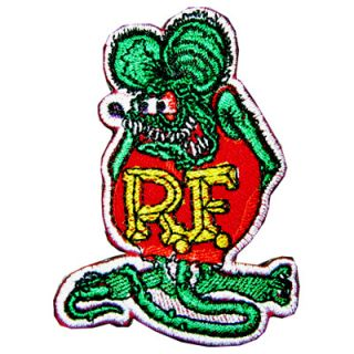 Ed Roth Rat Fink Triumph Hot Rod Racing Motorcycle Jacket Suit Patch