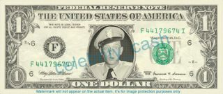 Barney Fife Dollar Bill   Don Knotts   Mint