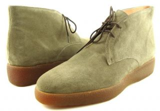 Robert Clergerie Fifi Gray Suede Womens Ankle Boots 9 5