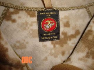 USMC Marine Corps Military Surplus Desert MARPAT Windpro Fleece Jacket