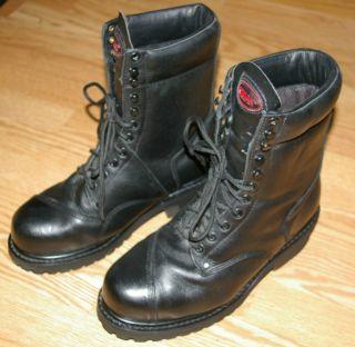 Kodiak Mens Black Combat Work Boots Sz 10 Police Corrections Officer